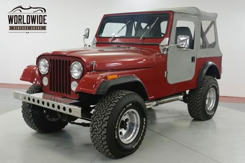 1981 Jeep CJ-7 for sale in Denver, CO