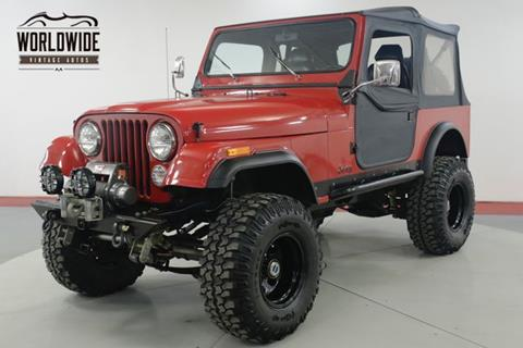 1985 Jeep CJ-7 for sale in Denver, CO