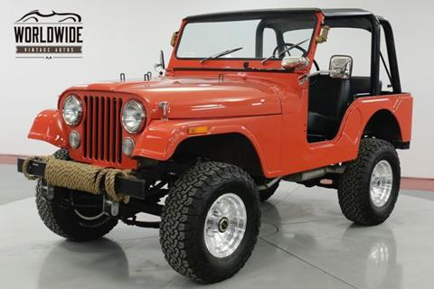1972 Jeep CJ-5 for sale in Denver, CO