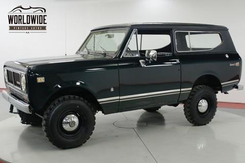 1973 International Scout for sale in Denver, CO