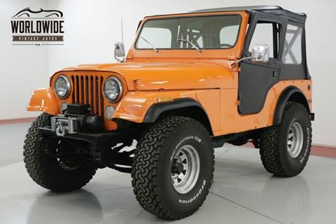 1978 Jeep CJ-5 for sale in Denver, CO