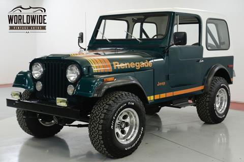 1979 Jeep CJ-7 for sale in Denver, CO