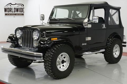 1986 Jeep CJ-7 for sale in Denver, CO