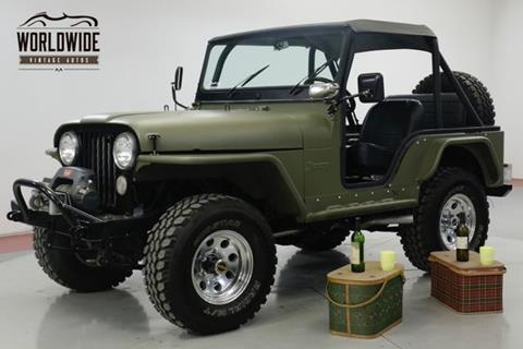 1973 Jeep CJ-5 for sale in Denver, CO