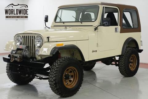 1982 Jeep CJ-7 for sale in Denver, CO