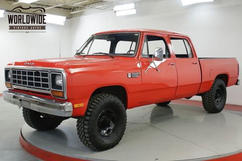 1985 Dodge RAM 350 for sale in Denver, CO