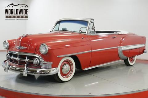 Used 1953 Chevrolet Bel Air For Sale Carsforsalecom