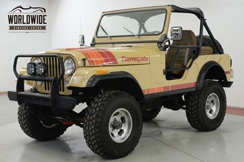 1976 Jeep CJ-5 for sale in Denver, CO