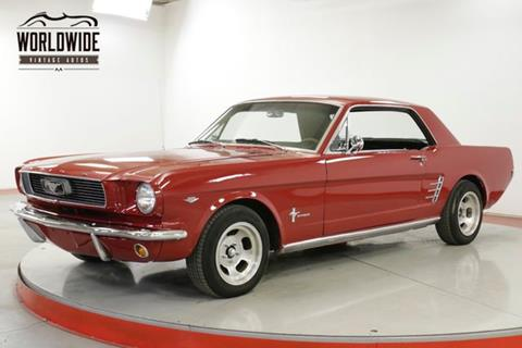 1966 Ford Mustang For Sale In Denver Co