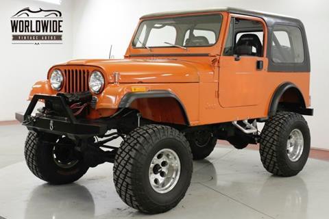 1981 Jeep CJ-7 for sale in Denver, CO