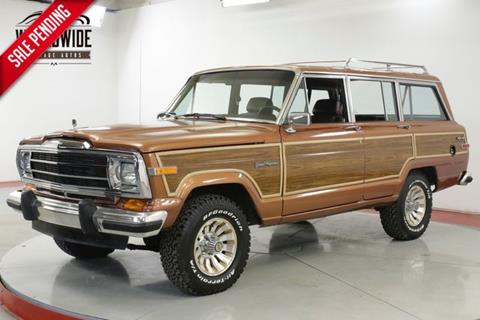 1988 Jeep Grand Wagoneer for sale in Denver, CO