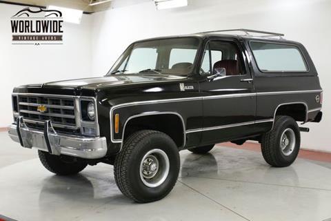 1979 Chevrolet Blazer for sale in Denver, CO