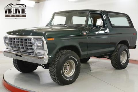 Used 1979 Ford Bronco For Sale - Carsforsale.com®