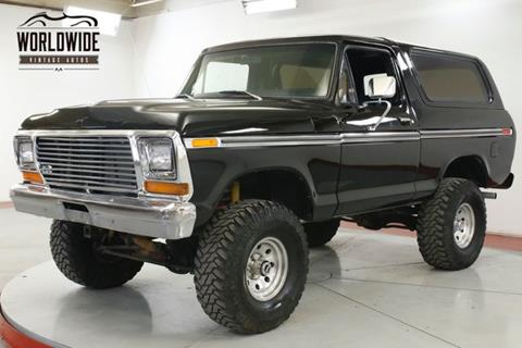 Used Ford Bronco >> 1979 Ford Bronco For Sale In Denver Co