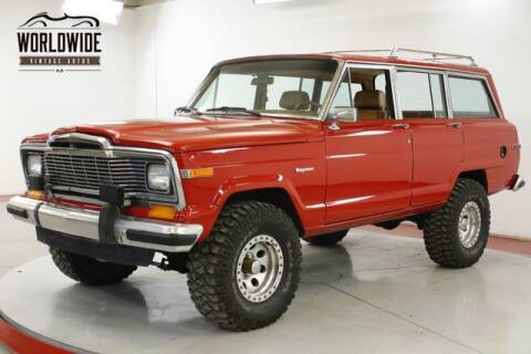 1985 Jeep Grand Wagoneer for sale at World Wide Vintage Autos in Denver CO