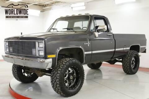 1985 Chevrolet C/K 20 Series for sale at World Wide Vintage Autos in Denver CO