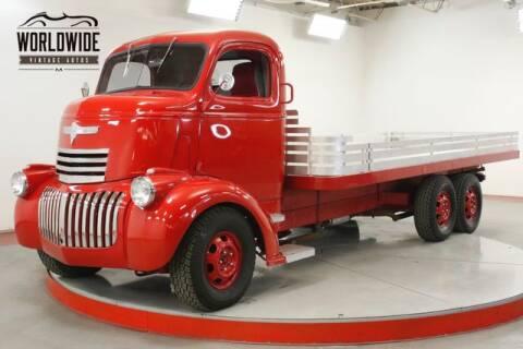 1946 Chevrolet CABOVER for sale at World Wide Vintage Autos in Denver CO