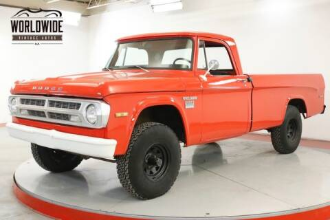 1971 Dodge POWER WAGON for sale at World Wide Vintage Autos in Denver CO