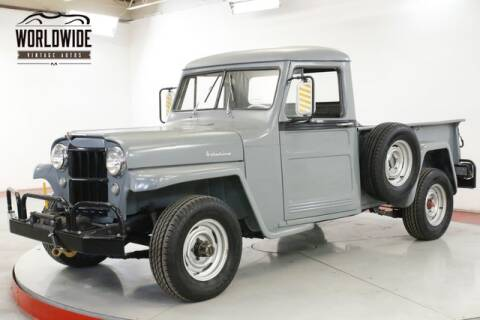 1955 Jeep Willys for sale at World Wide Vintage Autos in Denver CO
