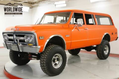 1971 GMC Suburban for sale at World Wide Vintage Autos in Denver CO
