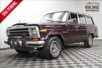 1989 Jeep Grand Wagoneer for sale in Denver, CO