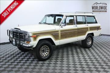 1987 Jeep Grand Wagoneer for sale in Denver, CO