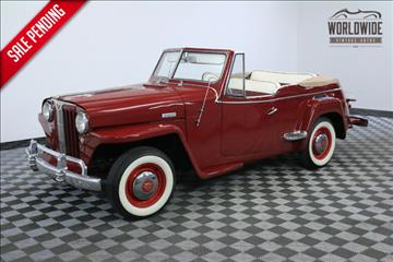 1948 Willys Jeepster for sale in Denver, CO