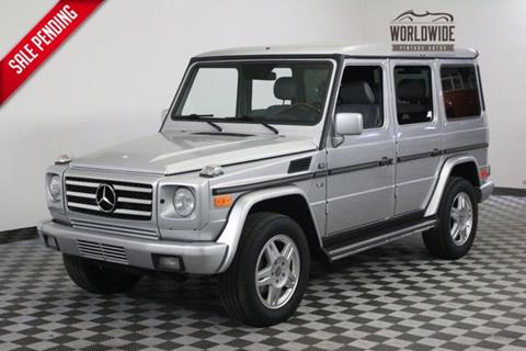 2002 Mercedes-Benz G-Class for sale in Denver, CO