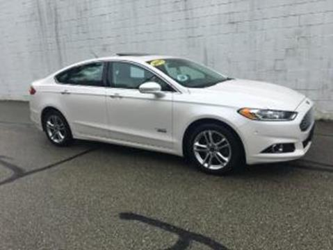2015 Ford Fusion Energi for sale at CHOICE AUTO SALES in Murrysville PA