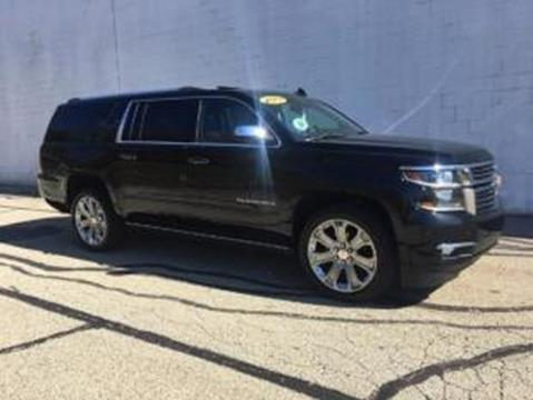 2017 Chevrolet Suburban for sale at CHOICE AUTO SALES in Murrysville PA