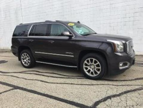 2016 GMC Yukon for sale at CHOICE AUTO SALES in Murrysville PA