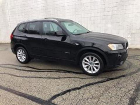 2013 BMW X3 for sale at CHOICE AUTO SALES in Murrysville PA
