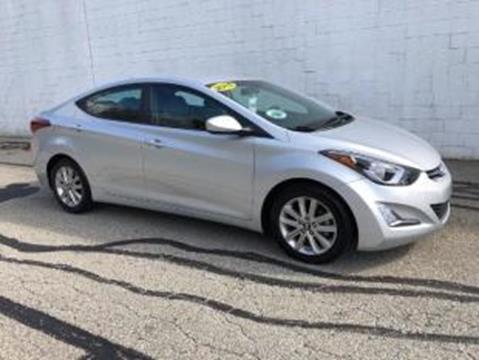 2015 Hyundai Elantra for sale at CHOICE AUTO SALES in Murrysville PA