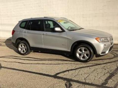 2012 BMW X3 for sale at CHOICE AUTO SALES in Murrysville PA