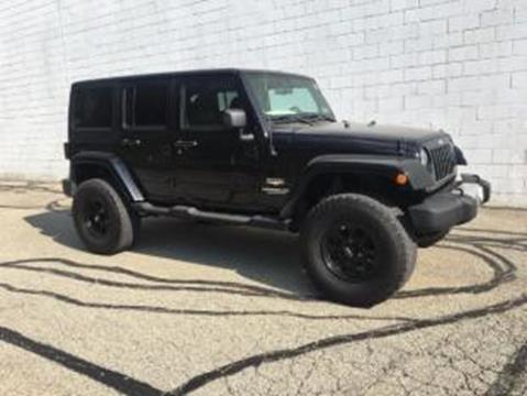 2012 Jeep Wrangler Unlimited for sale in Murrysville, PA