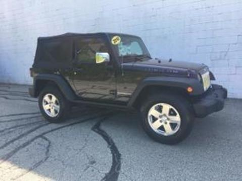 2010 Jeep Wrangler for sale at CHOICE AUTO SALES in Murrysville PA