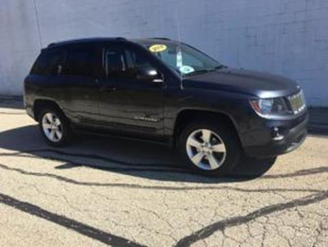 2014 Jeep Compass for sale at CHOICE AUTO SALES in Murrysville PA