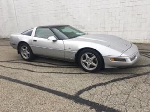 1996 Chevrolet Corvette for sale at CHOICE AUTO SALES in Murrysville PA