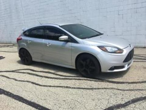 2013 Ford Focus for sale at CHOICE AUTO SALES in Murrysville PA