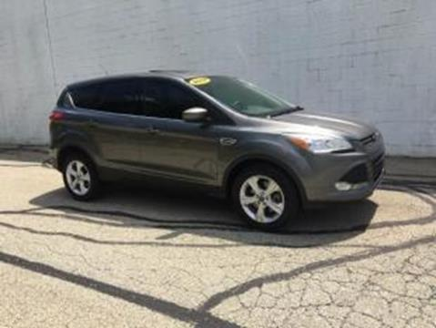 2014 Ford Escape for sale at CHOICE AUTO SALES in Murrysville PA