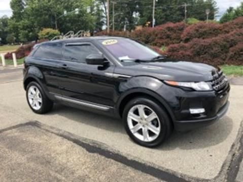 2014 Land Rover Range Rover Evoque Coupe for sale in Murrysville, PA