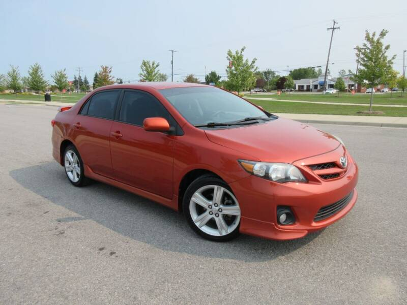 2013 Toyota Corolla for sale at Wholesale Car Buying in Saginaw MI