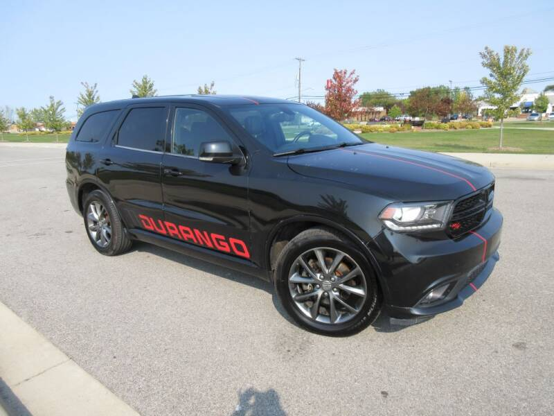 2014 Dodge Durango for sale at Wholesale Car Buying in Saginaw MI