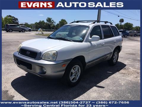 2001 Hyundai Santa Fe for sale in South Daytona, FL
