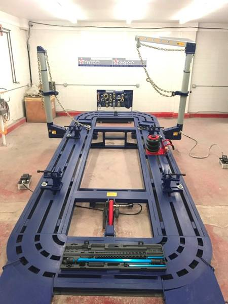 2020 5 Star 20 Feet 2 10 Ton Towers Auto Body Frame Machine Rack for sale at Kamran Auto Exchange Inc in Chicago IL