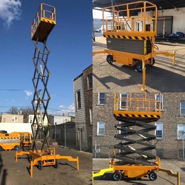 2020 Electric Scissor lift 28 ft for sale at Kamran Auto Exchange Inc in Chicago IL