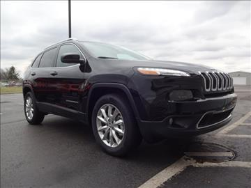 2017 Jeep Cherokee for sale in Troy, OH