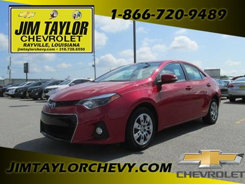Toyota Chevrolet Cars Financing For Sale Rayville Jim Taylor Chevrolet