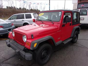 2001 Jeep Wrangler for sale in Fall River, MA