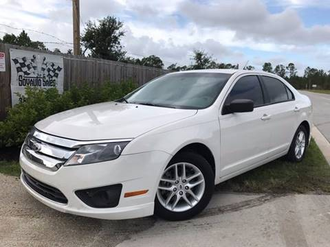 2012 Ford Fusion for sale in Bunnell, FL